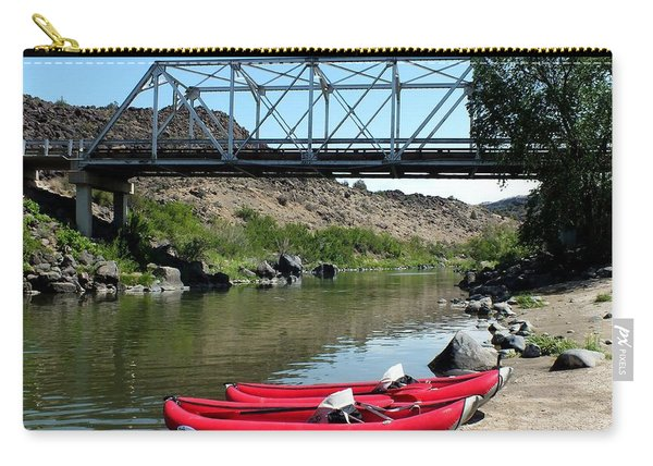 Recreation On The Rio Grande River New Mexico Carry-all Pouch
