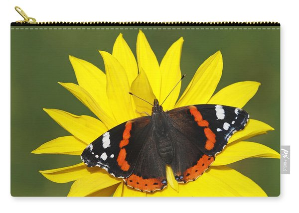 Red Admiral Butterfly Netherlands Carry-all Pouch