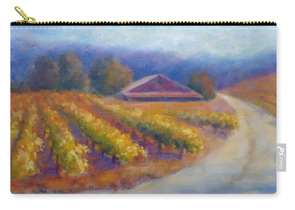 Red Barn Vineyard Carry-all Pouch