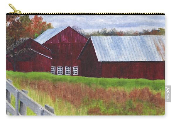Red Barns At Freehold Carry-all Pouch