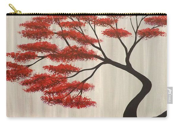 Red Bonsai Carry-all Pouch