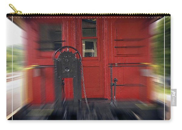 Red Caboose Carry-all Pouch
