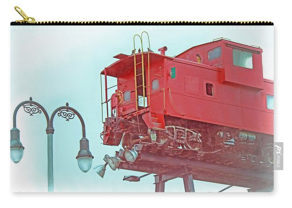 Red Caboose In The Sky2 Carry-all Pouch