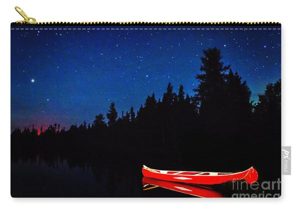 Red Canoe Carry-all Pouch