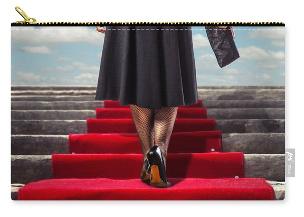 Red Carpet Stairway Carry-all Pouch