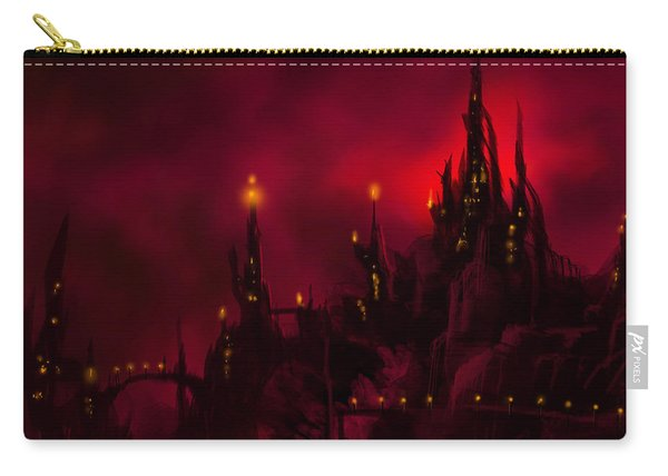Red Castle Carry-all Pouch
