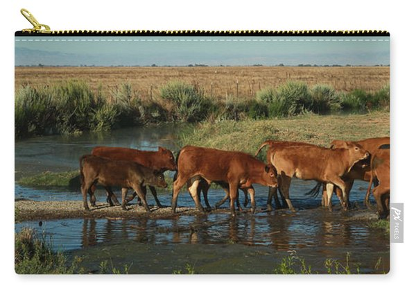 Red Cattle Carry-all Pouch