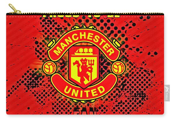 Red Devils Fan Poster Carry-all Pouch