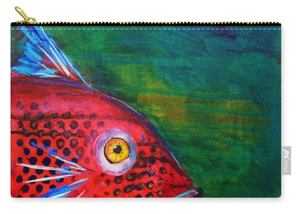 Red Fish Carry-all Pouch