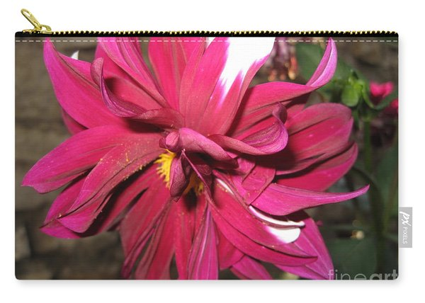 Red Flower In Bloom Carry-all Pouch