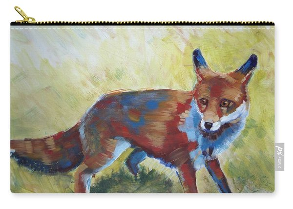 Red Fox Carry-all Pouch