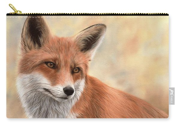 Red Fox Painting Carry-all Pouch