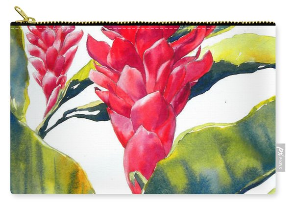 Red Ginger Carry-all Pouch