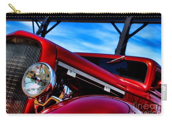 Red Hot Rod Carry-all Pouch