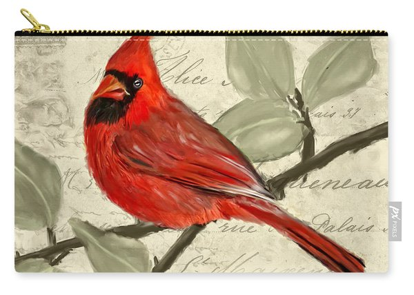 Red Melody Carry-all Pouch