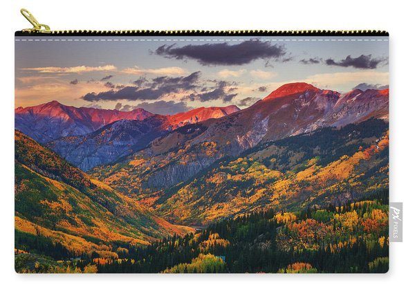 Red Mountain Pass Sunset Carry-all Pouch