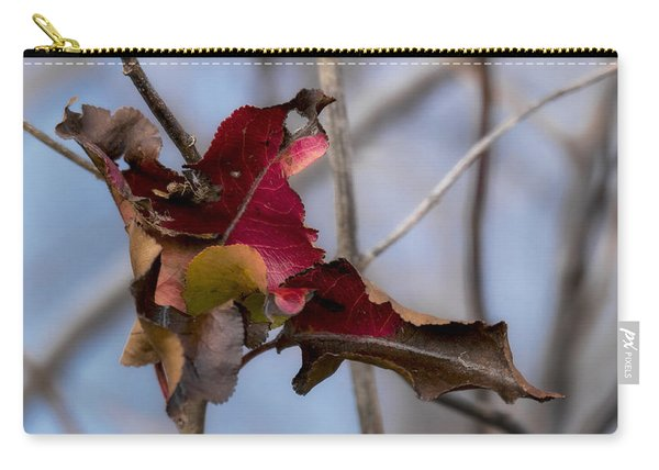Red Over Branch Carry-all Pouch