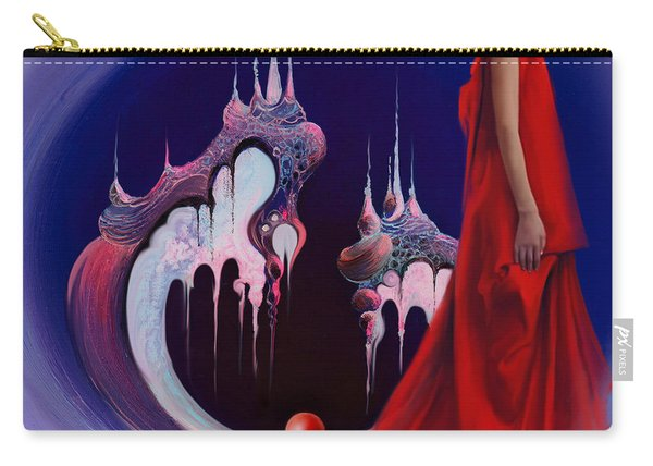 Red Pearl Castle Carry-all Pouch