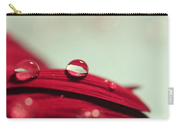 Red Petals Carry-all Pouch