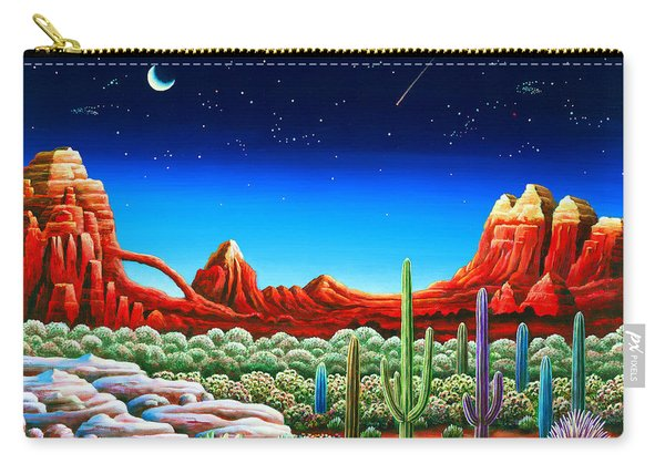 Red Rocks 5 Carry-all Pouch