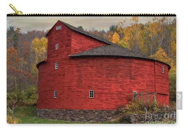 Red Round Barn Carry-all Pouch