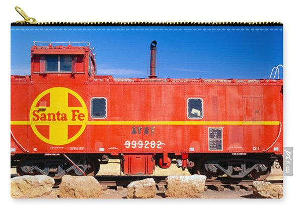 Red Santa Fe Caboose, Arizona Carry-all Pouch