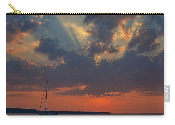 Red Sky At Night - Simcoe Carry-all Pouch