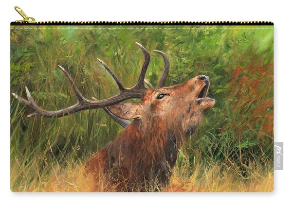 Red Stag Carry-all Pouch