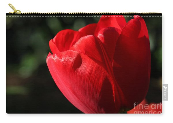 Red Tulip Carry-all Pouch