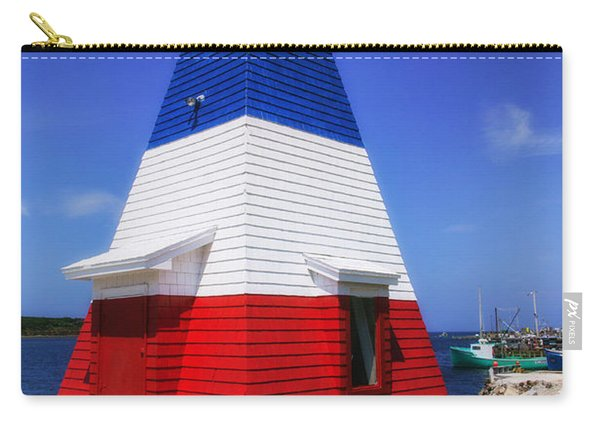 Red White And Blue Lighthouse Carry-all Pouch