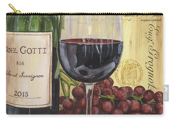 Red Wine And Pear Carry-all Pouch