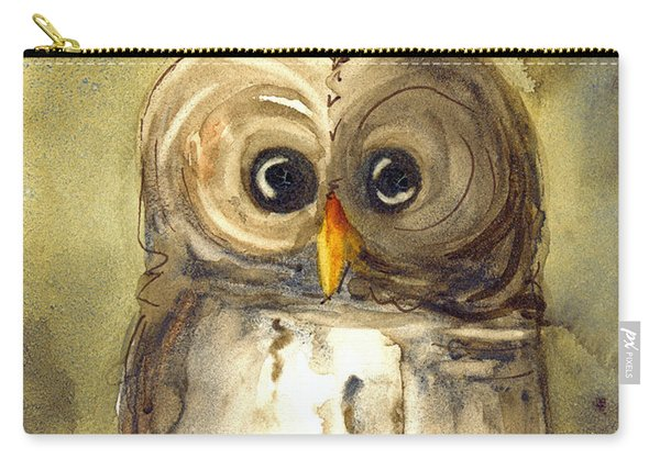 Redbird Cottage Owl Carry-all Pouch