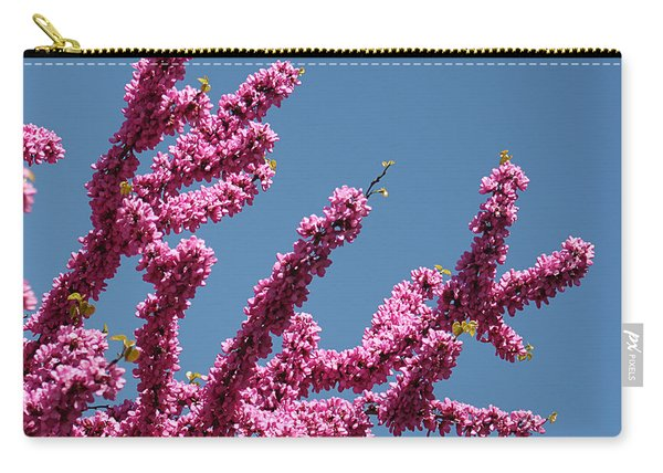 Redbud Against Blue Sky Carry-all Pouch