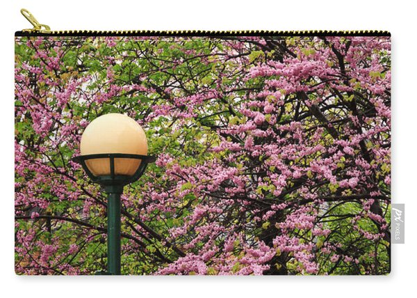 Redbud And Lamp Carry-all Pouch