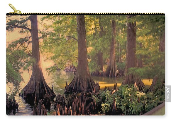 Reelfoot Lake At Sunset Carry-all Pouch