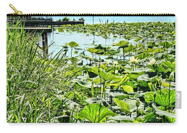 Reelfoot Lake Lilly Pads Carry-all Pouch