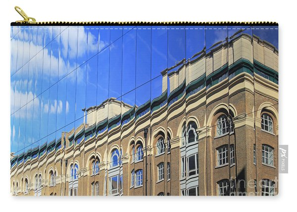 Reflected Building London Carry-all Pouch