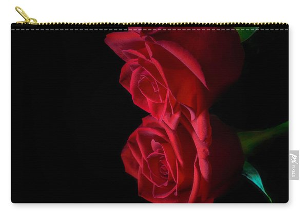 Carry-all Pouch featuring the photograph Reflecting Beauty by Garvin Hunter