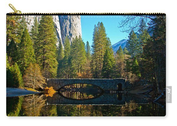 Reflecting On Yosemite Carry-all Pouch