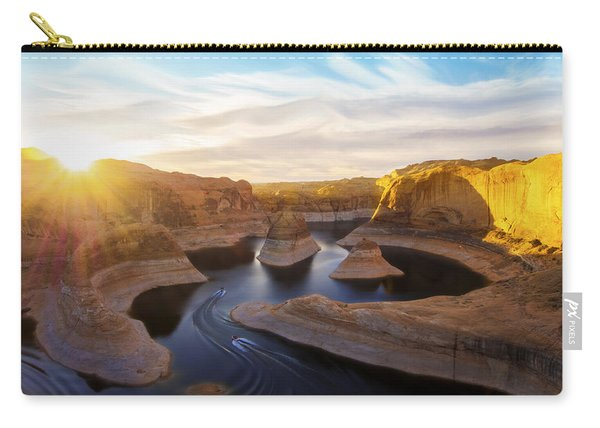 Carry-all Pouch featuring the photograph Reflection Canyon by Dustin  LeFevre
