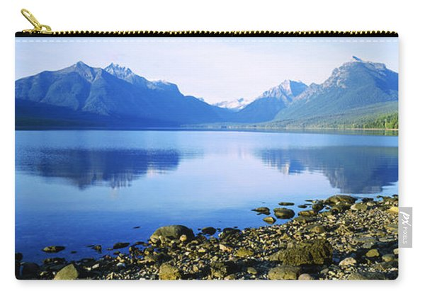 Reflection Of Rocks In A Lake, Mcdonald Carry-all Pouch