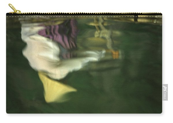 Reflection Of Women In Mekong Carry-all Pouch