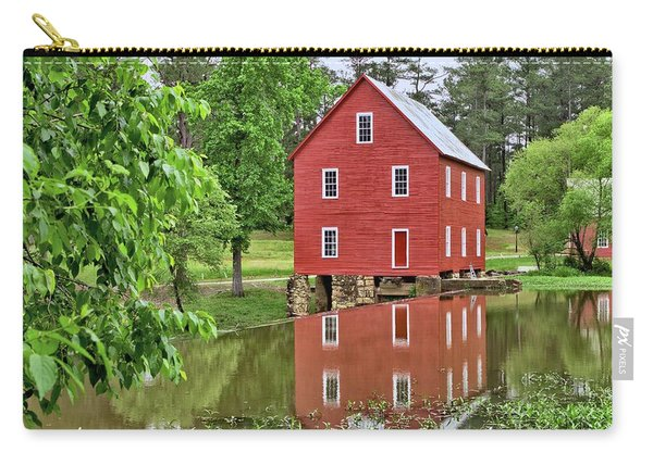 Reflections Of A Retired Grist Mill Carry-all Pouch