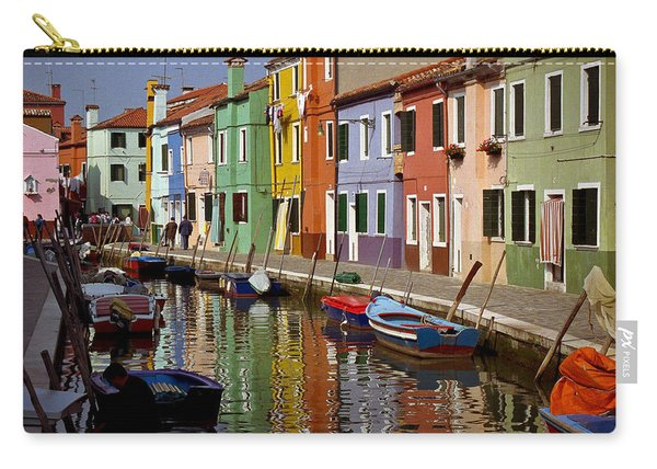Reflections Of Burano Carry-all Pouch
