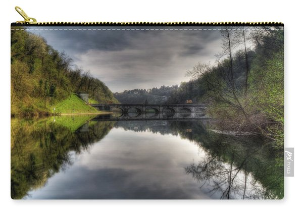 Reflections On Adda River Carry-all Pouch