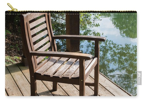 Alone By The Lake Carry-all Pouch