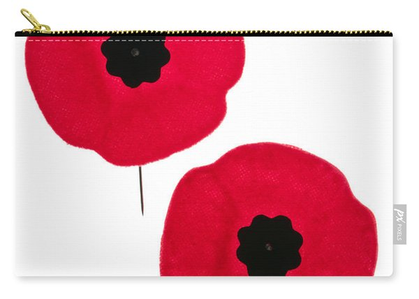 Remembrance Day Poppies Carry-all Pouch