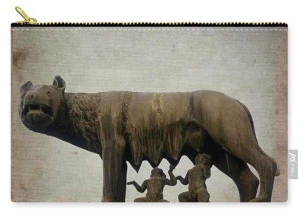 Remus And Romulus Carry-all Pouch