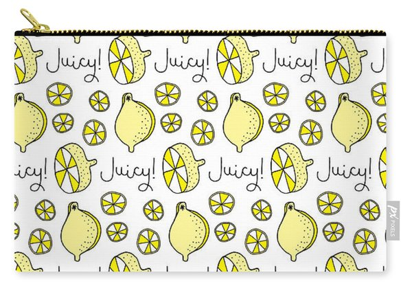 Repeat Prtin - Juicy Lemon Carry-all Pouch
