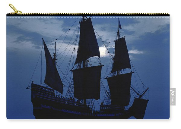 Replica Of Mayflower II Carry-all Pouch